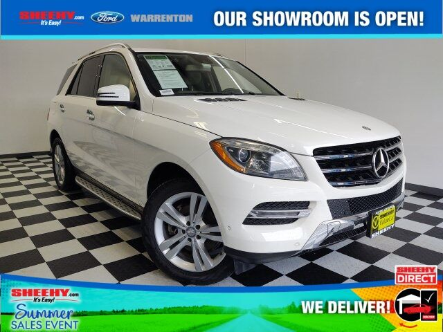 2014 Mercedes-Benz M-Class ML 350 4D Sport Utility Warrenton VA