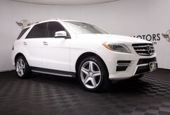 2014_Mercedes-Benz_M-Class_ML 550 Blind Spot,Heated Seats,Camera_ Houston TX