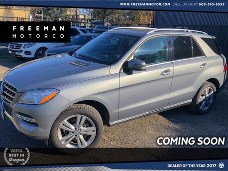 2014_Mercedes-Benz_ML 350_4MATIC Back-Up Cam Navigation_ Portland OR
