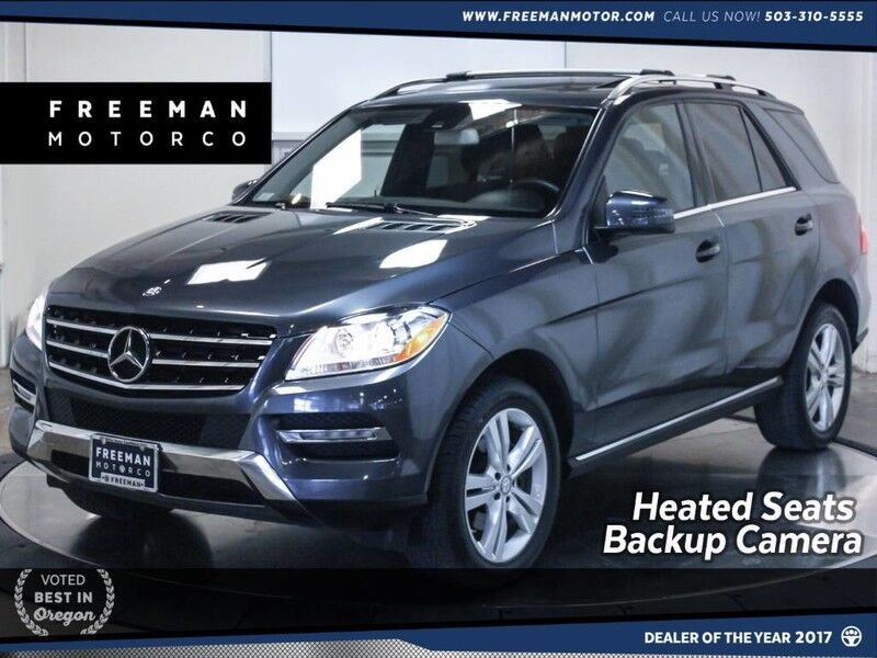 2014 Mercedes-Benz ML 350 4MATIC Back-Up Camera Heated Seats Navigation Portland OR