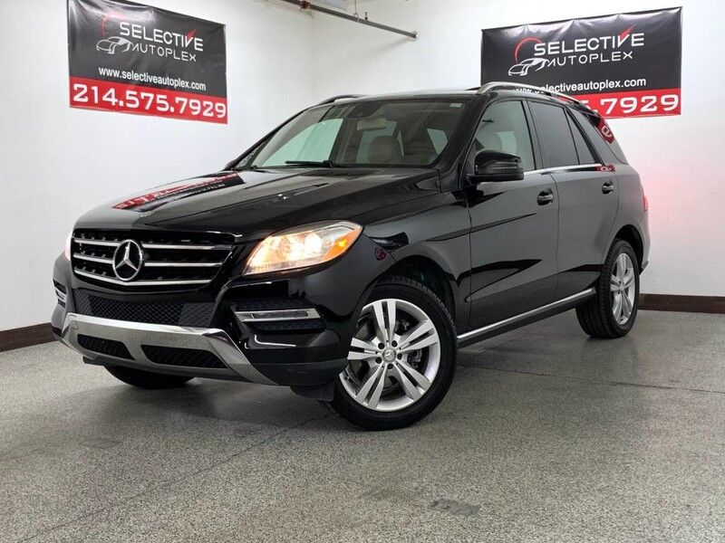 2014 Mercedes-Benz ML 350 RWD, LEATHER SEATS, HEATED FRONT SEATS, SUNROOF Carrollton TX