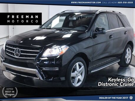 2014_Mercedes-Benz_ML 550_4MATIC Back-Up Cam Active Blind-Spot & Park Assist Nav_ Portland OR