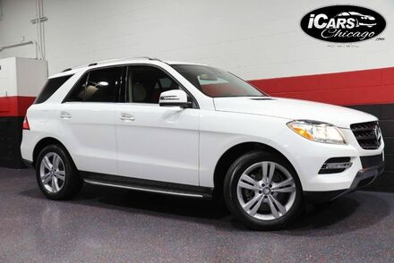 2014_Mercedes-Benz_ML350_4-Matic 4dr Suv_ Chicago IL