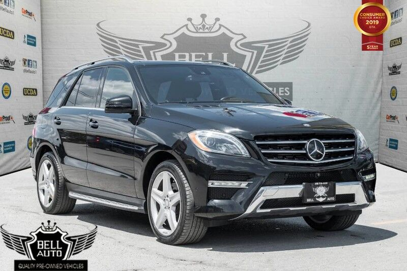 2014 Mercedes-Benz ML350 4MATIC NAVI PANO-ROOF LEATHER BACKUP CAM