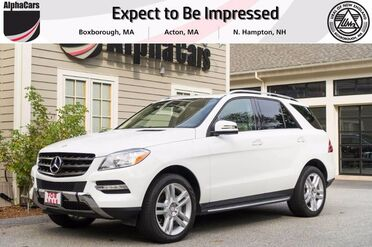 2014_Mercedes-Benz_ML350_BlueTEC_ Boxborough MA