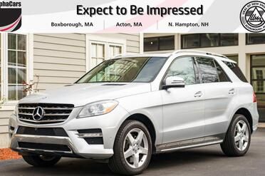 2014_Mercedes-Benz_ML550_4Matic_ Boxborough MA