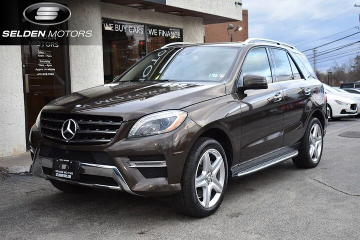 2014_Mercedes-Benz_ML550_4Matic_ Conshohocken PA