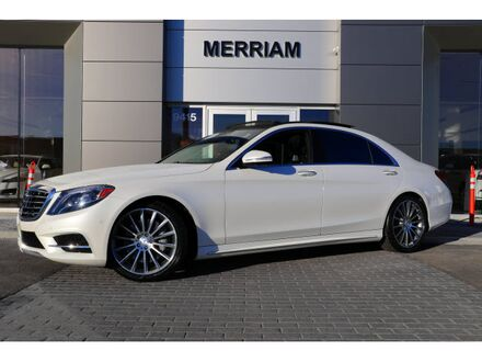 2014_Mercedes-Benz_S-Class_S 550 4MATIC®_ Merriam KS