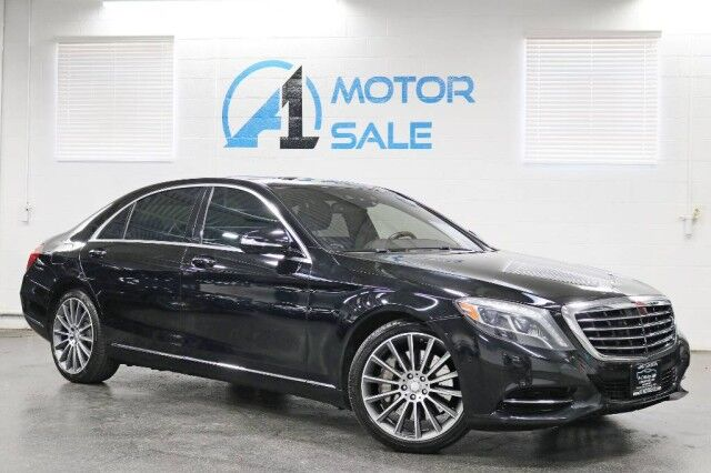 2014 Mercedes-Benz S-Class S 550 4Matic Rear TV's Schaumburg IL