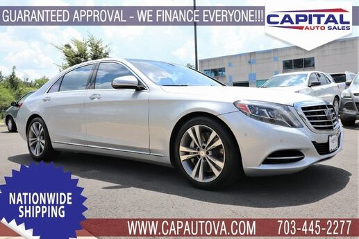 2014 Mercedes-Benz S-Class S 550 Chantilly VA