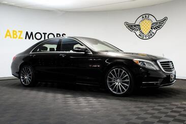 2014_Mercedes-Benz_S-Class_S 550 Sport AMG 20 Wheels Night View Lane Keep Assist_ Houston TX