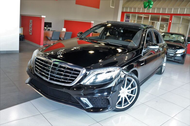 2014 Mercedes-Benz S-Class S 63 AMG 20 Inch Wheels Drivers Assist Package 360 Camera Navigation Sunroof Backup Camera Springfield NJ