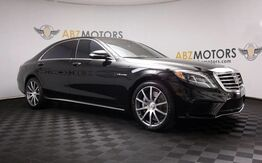 2014_Mercedes-Benz_S-Class_S 63 AMG Warmth&Comfort Pkg,Distronic,360Camera,Pano_ Houston TX