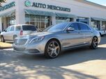 2014 Mercedes-Benz S-Class S550 4.7L 8CYL AUTOMATIC, LEATHER SEATS, BLUETOOTH CONNECTION, PANORAMIC ROOF