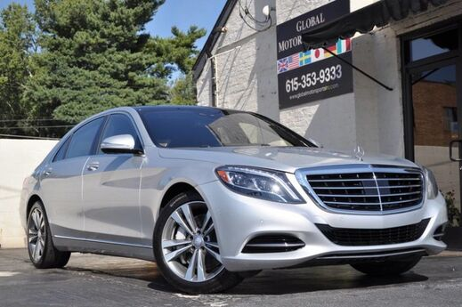 2014 Mercedes-Benz S-Class S550/Sport Package/Heated & Active Ventilated Front Seats w/ Massage/Surround View Camera/Driver Assistance Package w/ Distronic Plus, Active Blind Spot Assist/Burmester Audio/Over $102k MSRP Nashville TN