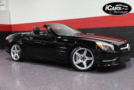 2014_Mercedes-Benz_SL550 AMG Sport_2dr Convertible_ Chicago IL
