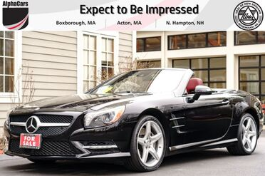 2014_Mercedes-Benz_SL550_Roadster_ Boxborough MA