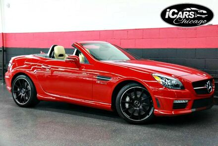 2014_Mercedes-Benz_SLK55_AMG Performance Package 2dr Convertible_ Chicago IL
