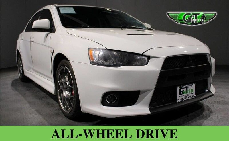2014 Mitsubishi Lancer Evolution MR Sedan 4D