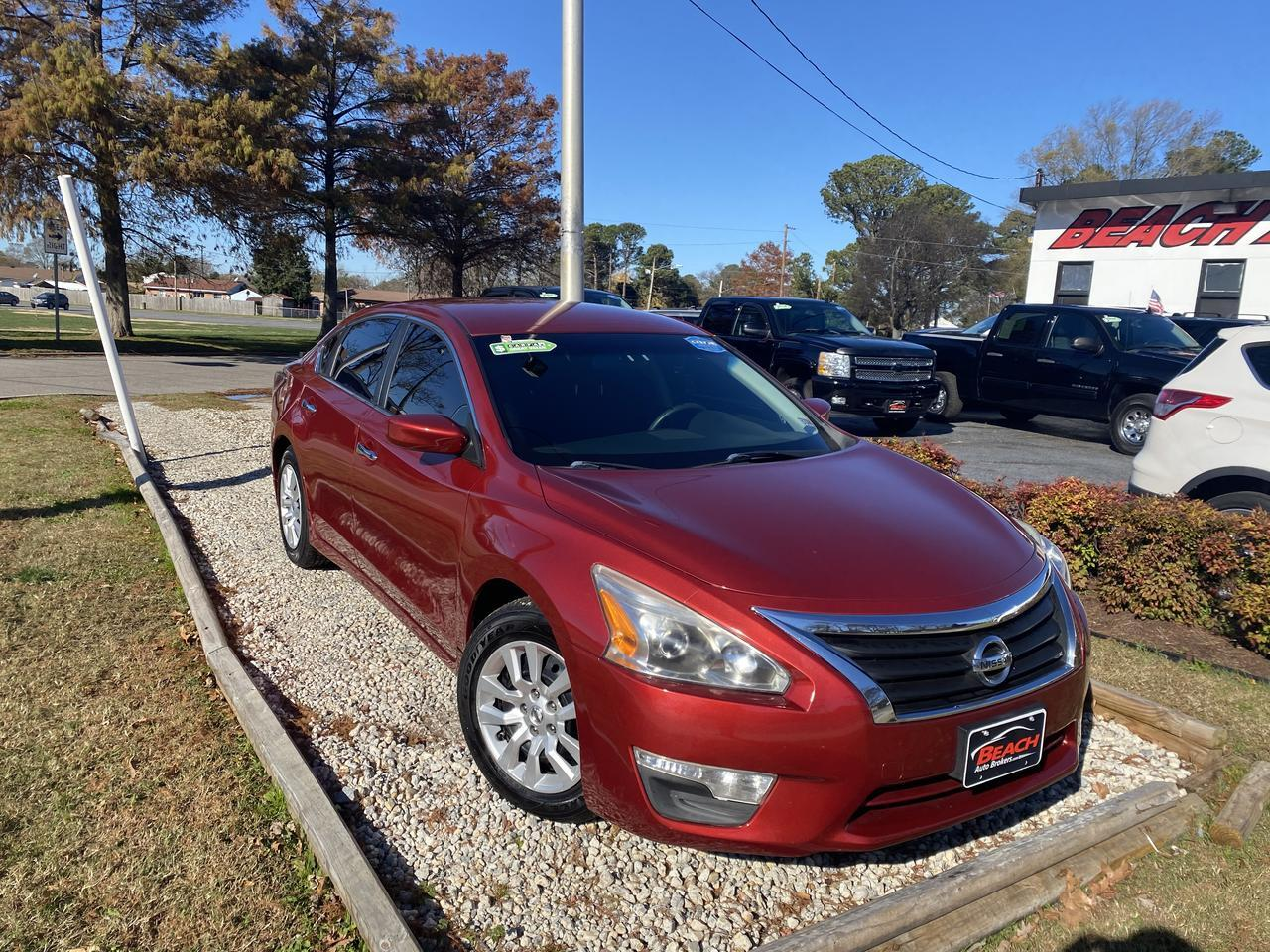 2014 NISSAN ALTIMA S, WARRANTY, BLUETOOTH, BACKUP CAM, PARKING SENSORS, AUX/USB PORT, SIRIUS RADIO! Norfolk VA