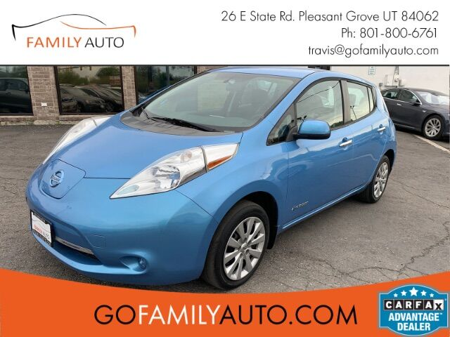 2014 NISSAN LEAF S S Pleasant Grove UT