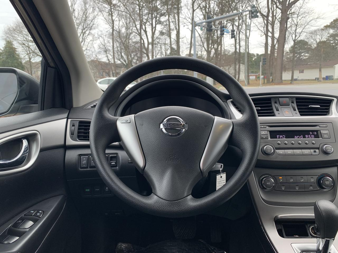 2014 NISSAN SENTRA S, WARRANTY, KEYLESS ENTRY, AUX PORT, SINGLE CD PLAYER, A/C, CRUISE CONTROL, THEFT RECOVERY! Norfolk VA