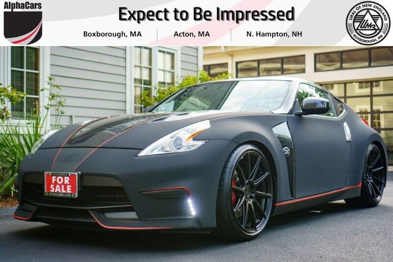 2014 Nissan 370Z Carbon Fiber Custom Coupe Boxborough MA