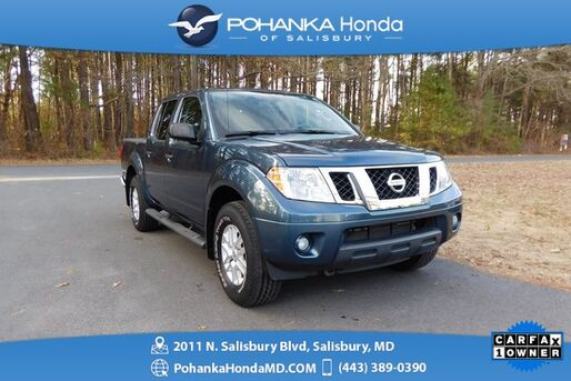 2014_Nissan_Frontier_SV 4X4 ** CREW CAB ** ONE OWNER **_ Salisbury MD