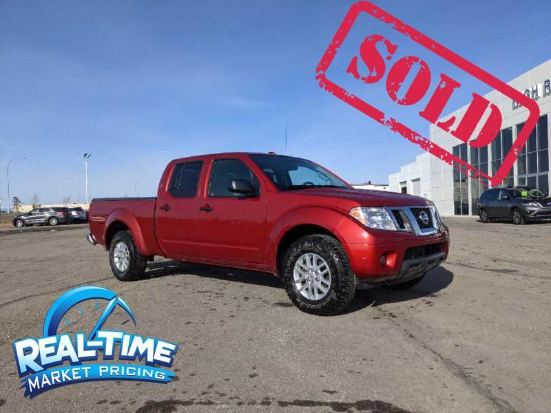 2014_Nissan_Frontier_SV_ High River AB