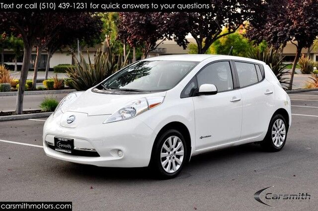 2014 Nissan LEAF S BlueTooth, USB/iPod & Back-Up Camera! Fremont CA