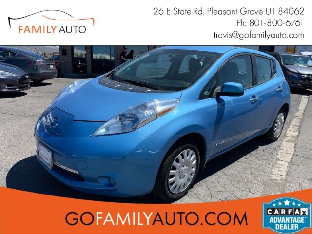2014 Nissan LEAF S Pleasant Grove UT