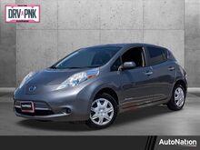 2014_Nissan_LEAF_S_ Roseville CA