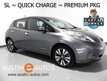 Nissan LEAF SL (12 of 12 BARS) *NAVIGATION, QUICK CHARGE, SURROUND CAMERAS, LEATHER, HEATED SEATS/STEERING WHEEL, BOSE, BLUETOOTH AUDIO 2014