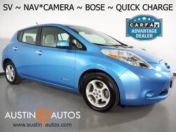 2014_Nissan_LEAF SV (12 of 12 BARS)_*NAVIGATION, SURROUND CAMERAS, TOUCH SCREEN, QUICK CHARGE, BOSE AUDIO, HEATED SEATS/STEERING WHEEL, BLUETOOTH PHONE & AUDIO_ Round Rock TX