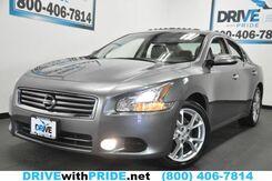 2014_Nissan_Maxima_3.5 SV 40K COLD PACKAGE REAR CAMERA HEATED LEATHER KEYLESS GO SUNROOF 18S_ Houston TX