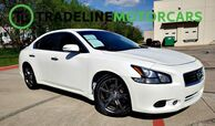 2014 Nissan Maxima 3.5 SV w/Premium Pkg HEATED SEATS, REAR VIEW CAMERA, LEATHER, AND MUCH MORE!!!