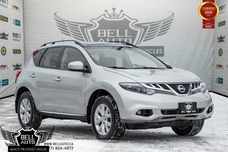 2014 Nissan Murano SL, AWD, BACK-UP CAM, PANO ROOF, LEATHER, HEATED SEAT