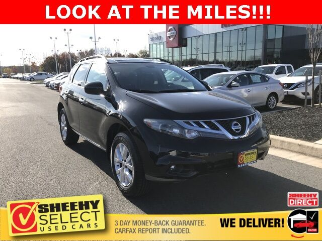 2014 Nissan Murano SL White Marsh MD