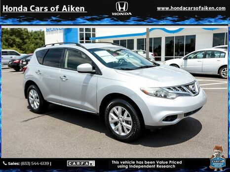 2014_Nissan_Murano_SV_ Aiken SC