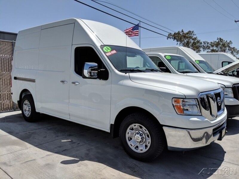 Nissan Nv 3500 For Sale >> 2014 Nissan NV3500 HD High Roof Cargo Van Fountain Valley ...