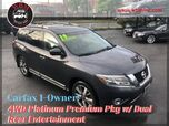 2014 Nissan Pathfinder 4WD Platinum w/ Premium Pkg