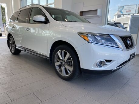 2014_Nissan_Pathfinder_Platinum ** NAVI ** REAR ENTERTAINMENT **_ Salisbury MD