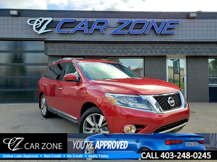 2014 Nissan Pathfinder Platinum Dual DVD Loaded Calgary AB