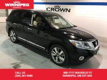 2014_Nissan_Pathfinder_Platinum/Local trade/Loaded/Low KM_ Winnipeg MB