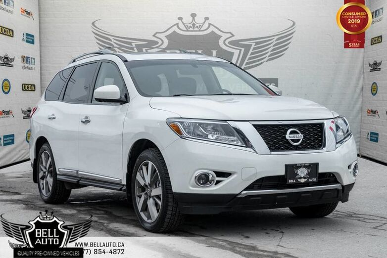 2014 Nissan Pathfinder Platinum premium, NAVI, BACK-UP CAM, BLUETOOTH Toronto ON