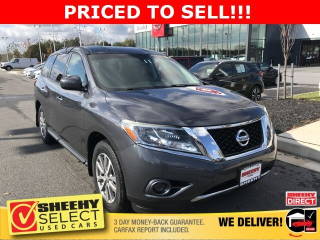 2014 Nissan Pathfinder S White Marsh MD
