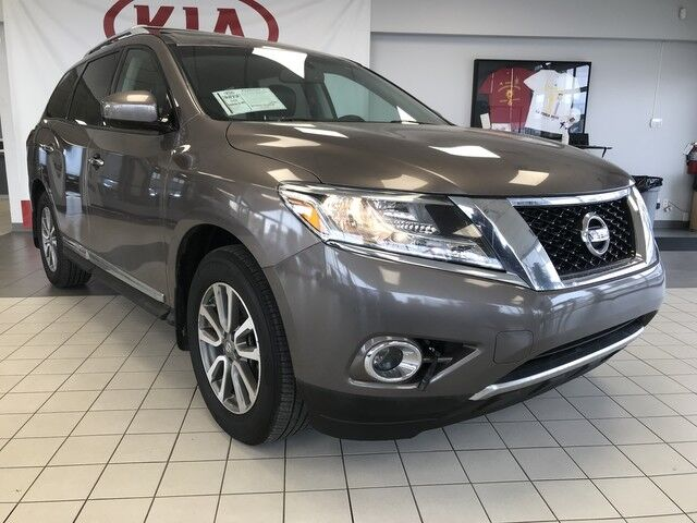 2014 Nissan Pathfinder SL 4WD V6 *REARVIEW CAMERA/LEATHER HEATED SEATS/BLUETOOTH/SUNROOF* Edmonton AB