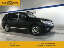 2014_Nissan_Pathfinder_SL AWD **Heated Leather Seats** 7 Passenger** Great Service History**_ Winnipeg MB