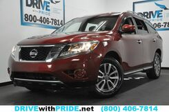 2014_Nissan_Pathfinder_SV 1 OWN 34K REAR CAM SENSORS KEYLESS GO TRI ZONE AC ALLOYS_ Houston TX