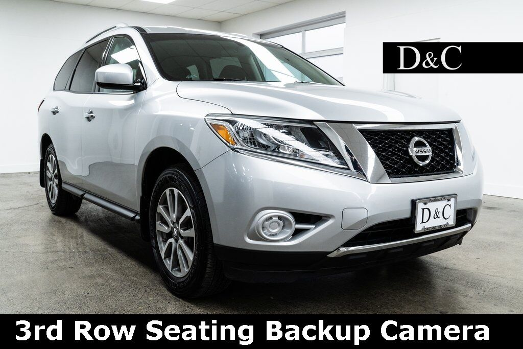 2014 Nissan Pathfinder SV 3rd Row Seating Backup Camera Portland OR